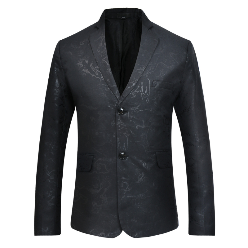 Hombres Chaqueta Realizar La De Slim Lujo Negro Casual Vestido Verde T0vxxqtnS