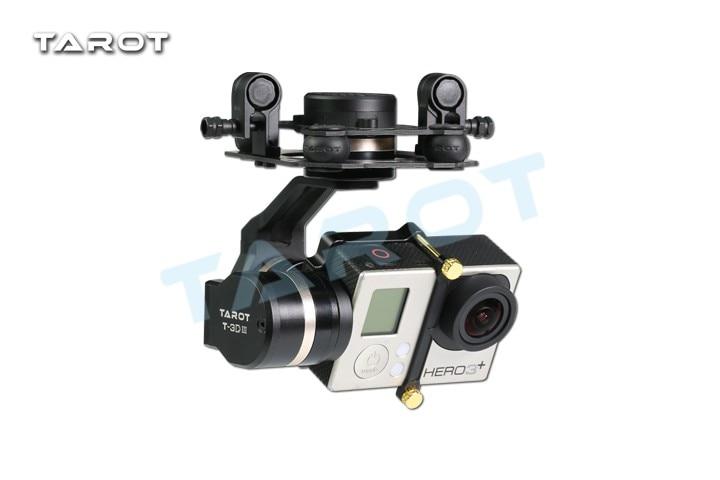 Ormino Tarot 3 axis Gimbal GOPRO 3DIII Metal Gimbal HERO 3 4 Camera Brushless Gimbal Controller RC Drone Diy Quadcopter Kit