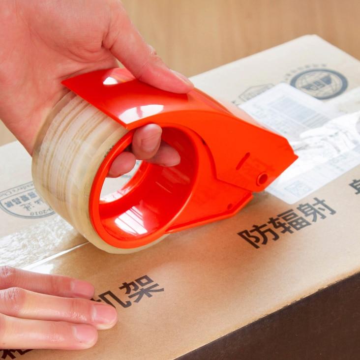 Deli 801 Tape Dispenser Packing Tape Dispensers Sealing Machine Dispensing Device Tape Holder Cartoon Packing Machine