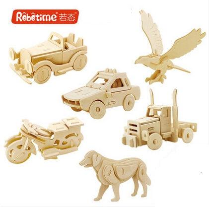 Achetez en gros animaux en bois puzzle 3d en ligne des for Piece 3d en ligne