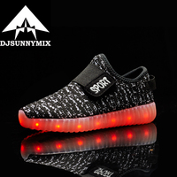 Children Shoes With Light Boys And Girls Casual LED Shoes For Kids 2016 LED Light Up