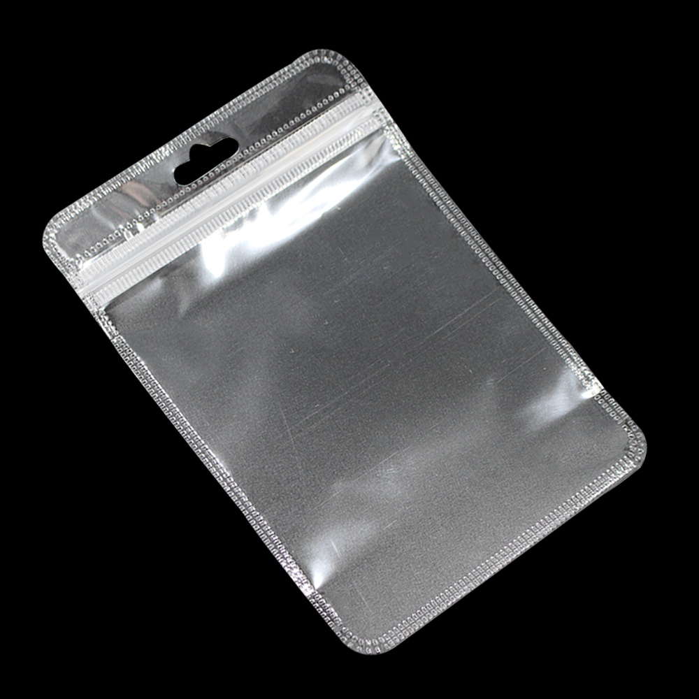 0516c67eee41 US $120.0 |3000Pcs/Lot Clear Ziplock Plastic Pouches With Euro Hang Hole  Resealable Zipper Poly Bags For Keys Rubber Band Accessories-in Storage  Bags ...