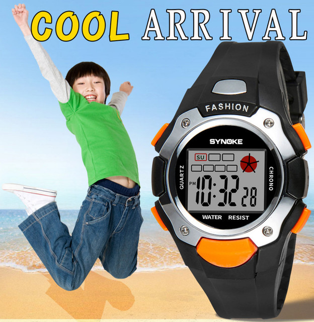US $13 13 |Kids Watches Timer Alarm Chrono Digital Wristwatches 30M  Waterproof Boy Girl Clock Children Sport Watch Erkek Kol Saati Horloges-in