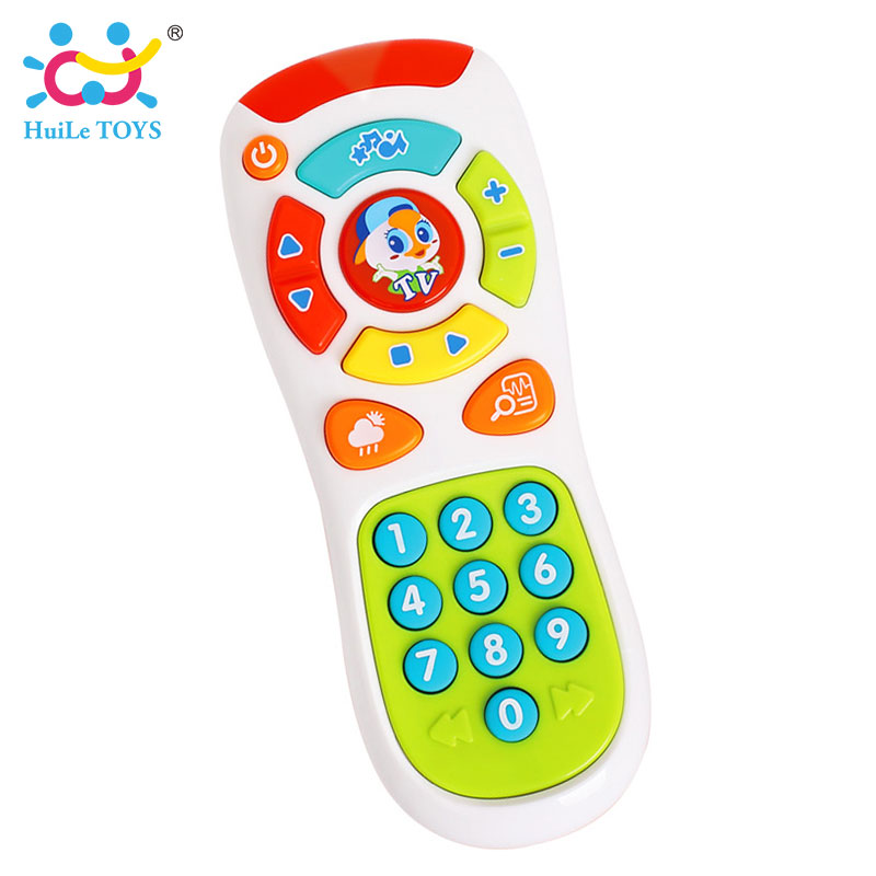HUILE-TOYS-3113-Baby-Toys-Electric-Click-Count-Remote-with-Light-Music-Kids-Early-Learning-Educational-Toys-for-Toddler-Gift-1