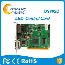 DS802D Linsn envio de cartão tela led Single & Dual color display led cartão enviando linsn DS802 substituir DS801 DS801d melhor venda