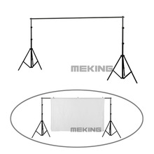Professional Photography background backdrop stand holder Support System 2 x light stands + 1 x cross bar + carry bagd