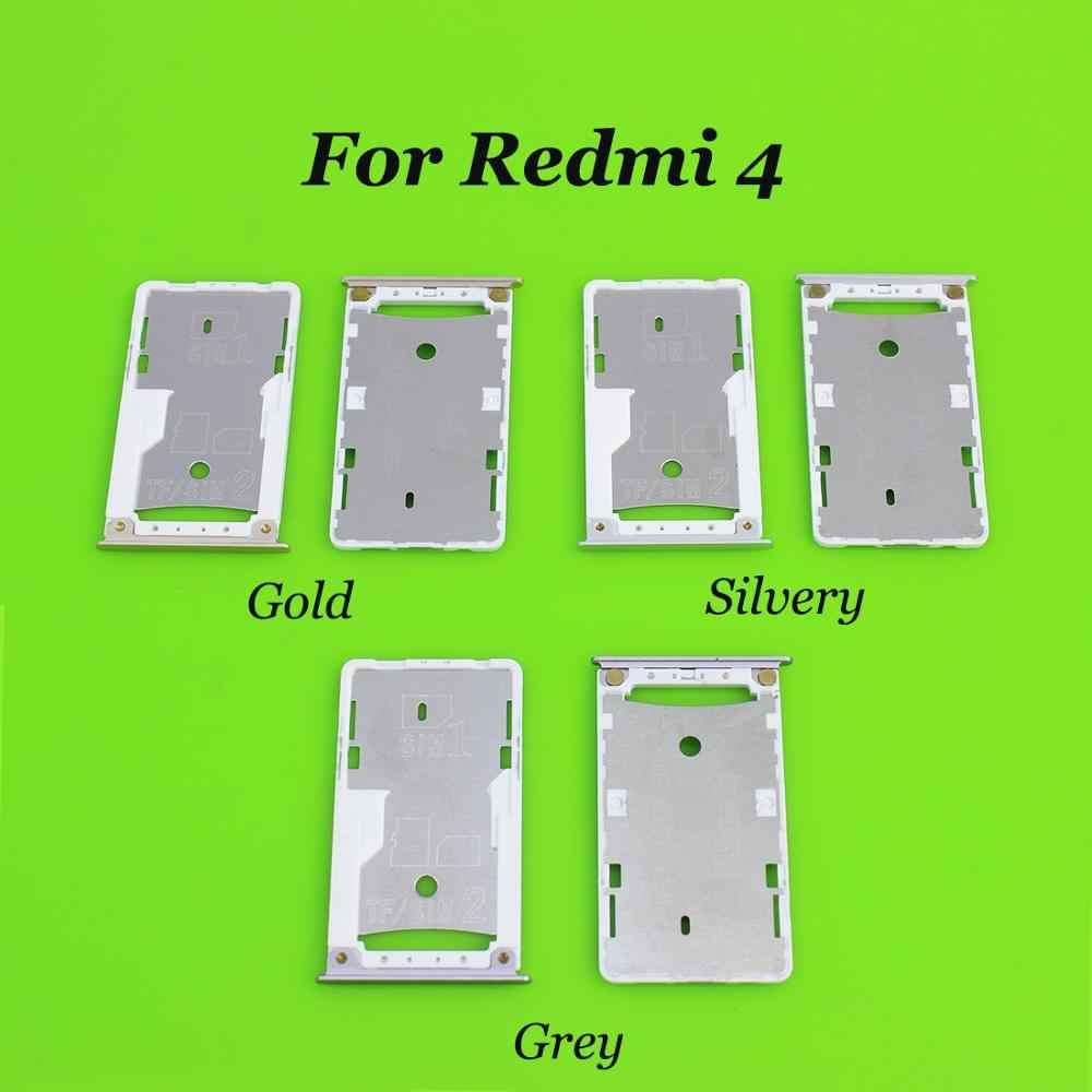 Yuxi untuk Xiaomi Redmi 4A/4X/4/Note 4X Kartu SIM Soket Dudukan Slot Adapter Pengganti suku Cadang untuk Redmi Note4X