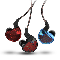 2018 Newest KZ ZS10 4BA With 1 Dynamic Hybrid 10 Driver In Ear Earphone HIFI DJ