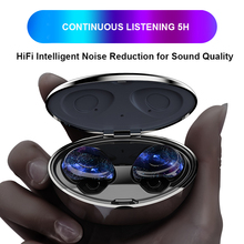Earphones Noise Canceling Phone Bluetooth Tws In Ear Earphone Waterproof true Earbuds Touch Wifi Handsfree Wirelles Headset wireless true waterproof sport headset phone handsfree earphone touch tws bluetooth earbuds noise canceling wirelles earphones