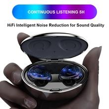 Earphones Noise Canceling Phone Bluetooth Tws In Ear Earphone Waterproof true Earbuds Touch Wifi Handsfree Wirelles Headset