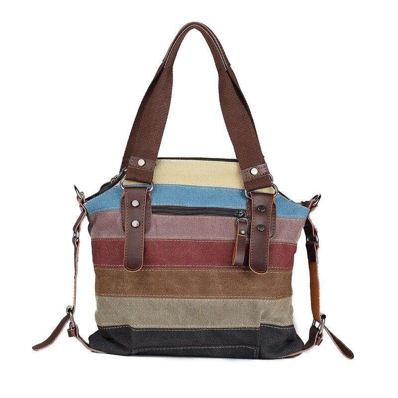 Luxy Moon Hot Canvas Handbags Super Patchwork Women Shoulder Bags Shopping Bag Casual Patchwork k2 Totes Small Size Handbag