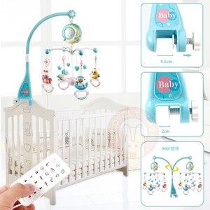 Image 3 - Baby Crib Mobiles Rammelaars Speelgoed Bed Bel Carrousel Voor Babybedjes Projectie Zuigeling Educatief Speelgoed 0 12 Maanden Voor Pasgeborenen
