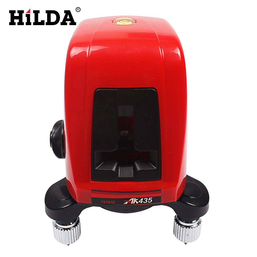 AK435 360 degree self-leveling Cross Laser Level 1V1H Red 2 line 1 point Rotary Horizontal Vertical Red Laser Levels Cross laser 1pc laser cast line machine multifunction laser line cross line laser rotary laser level 360 selfing leveling 5 line 4v1h3 point