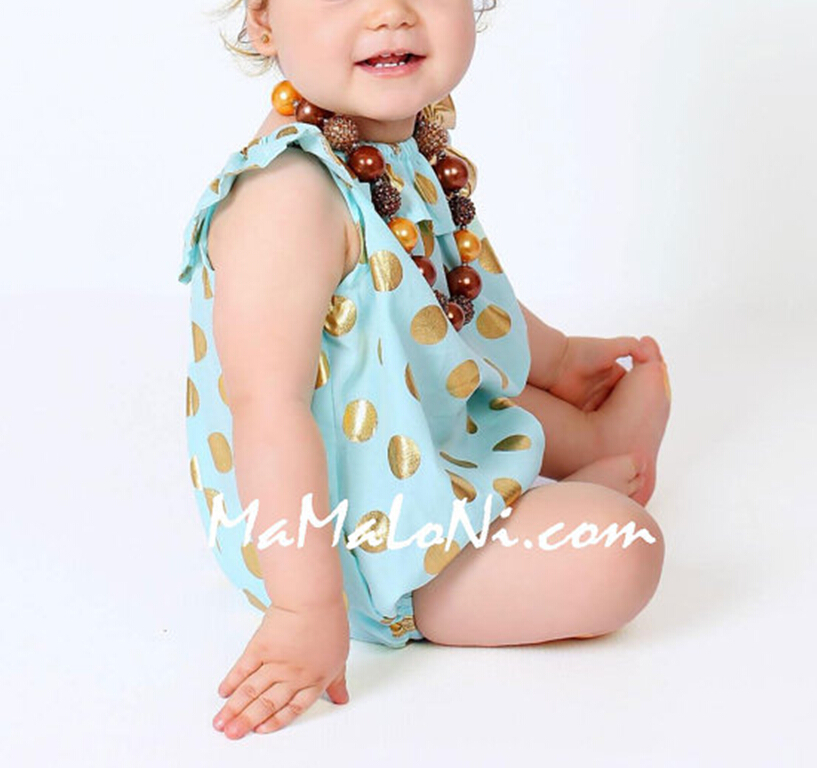 Headband Casual Romper Jumpsuit Baby Girl Clothes Gold Polka Dot Outfits Set Baby Girl 3 6 9 12 18 24 Monthes 2pcs set newborn floral baby girl clothes 2017 summer sleeveless cotton ruffles romper baby bodysuit headband outfits sunsuit