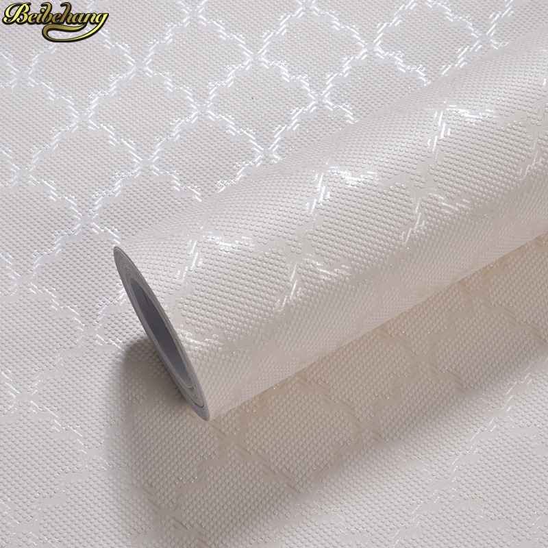 Beibehang Modern Minimalist Plain Fashion Non-woven Self-adhesive Wallpaper Bedroom Living Room TV Background Wall Self-adhesive