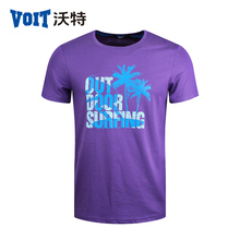 2017 VOIT Summer New T-shirt male sports cotton round neck And High Quility T-shirt