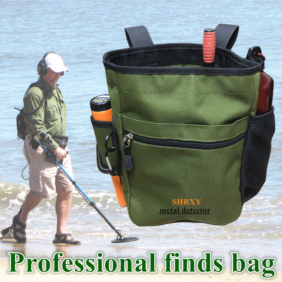 Metal Detector Finds Bag Multi-purpose Digger Tools Bag For PinPointer Detector Xp ProPointer Waist Pack Mule Pouch