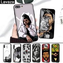 цена на Lavaza Hip Hop Rapper Dope Print Rubber Silicone Case for iPhone 5 5S 6 6S 7 8 Plus X XR  XS Max