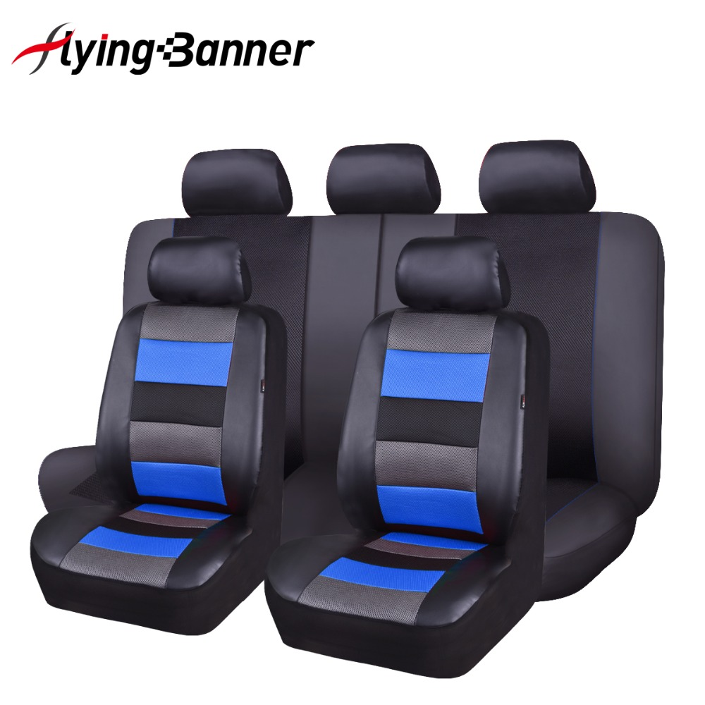 Artificial Leather Car Seat Covers 6 Color Universal Automotive Car Seat Interior Accessories 40/60 50/50 60/40 For 99% Cars-in Automobiles Seat Covers from Automobiles & Motorcycles