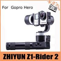 ZHIYUN Z1 Rider2 (Z1 Rider обновление версии) 3 оси Портативный устойчивый Gimbal для Gopro Hero3 3 + 4 XiaoYi SJ4000