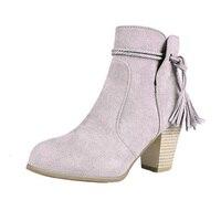 Autumn Winter Fashion Ankle Boots women