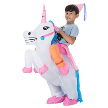 Childrens Inflatable Pegasus Costume Halloween, Funny Party/Fancy Dress Party/Party Cosplay Unicorn