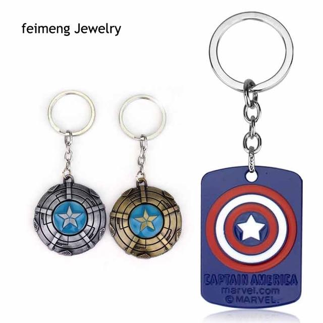 Marvel Comics Superheld Captain America Avengers Schlüsselanhänger