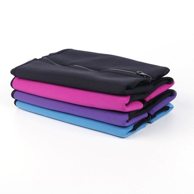 Waist Support Brace Belts Body Shaper Slimming Waist Trainer Zipper Vest Women Large Size Waist Trainer Corset Sweat Belt 4