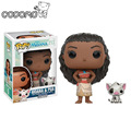 Funko Pop Official Movies Moana Maui PVC Action Figure Toys 2017 New 100% Original Pop Toy For Children Baby Gift Comes with box