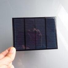 Policristalino do Painel Carregador de Celular para Bateria 1 PC X 12 V 100ma 1.5 W Mini Monocristalino Solar Pequeno 18