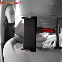 Car Phone Holder Back Seat Tablet Pad Bracket 4-11 Inch Holders Universal For iPad Samsung Asus Huawei Mediapad T3 10 M3 Lite M5(China)