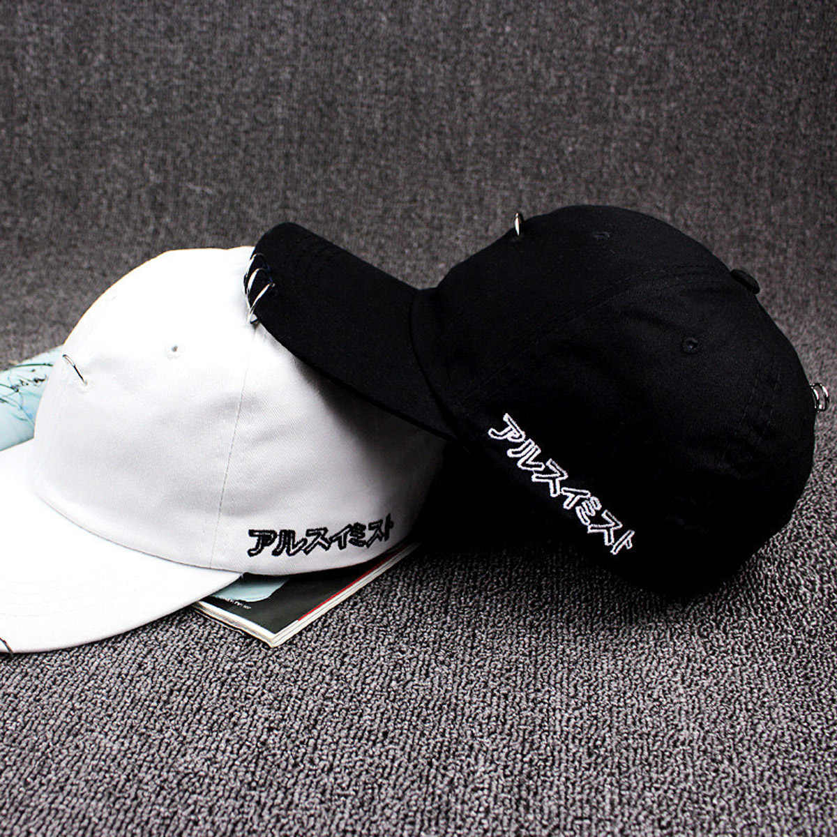 Unisex Perlindungan Sinar UV Topi Bisbol Topi Yang Dapat Disesuaikan Cincin Hip Hop Melengkung Strapback Snapback Baseball Cap US # V