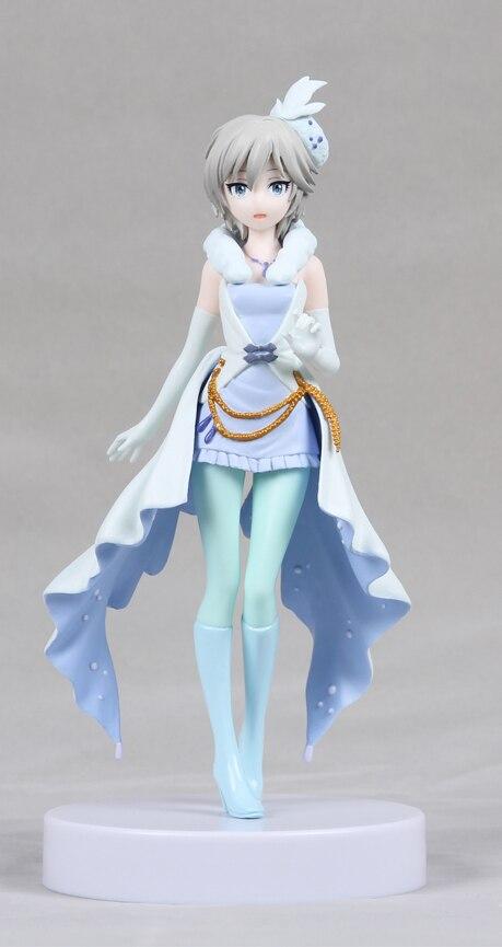 18cm Japanese unique anime determine he iDOLM@STER Cinderella Women Anastasia LOVE LAIKA motion determine collectible mannequin toys