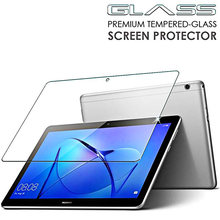 Tempered Glass For Huawei MediaPad M3 Lite 10.0 BAH-W09 BAH-AL00 Tablet Screen Protector For Huawei T3 WiFi Version Film Cover(China)