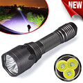 High Quality Super Bright 8000Lm 3x CREE XM-L T6 LED 5-Mode 18650 Flashlight Torch Light Lamp