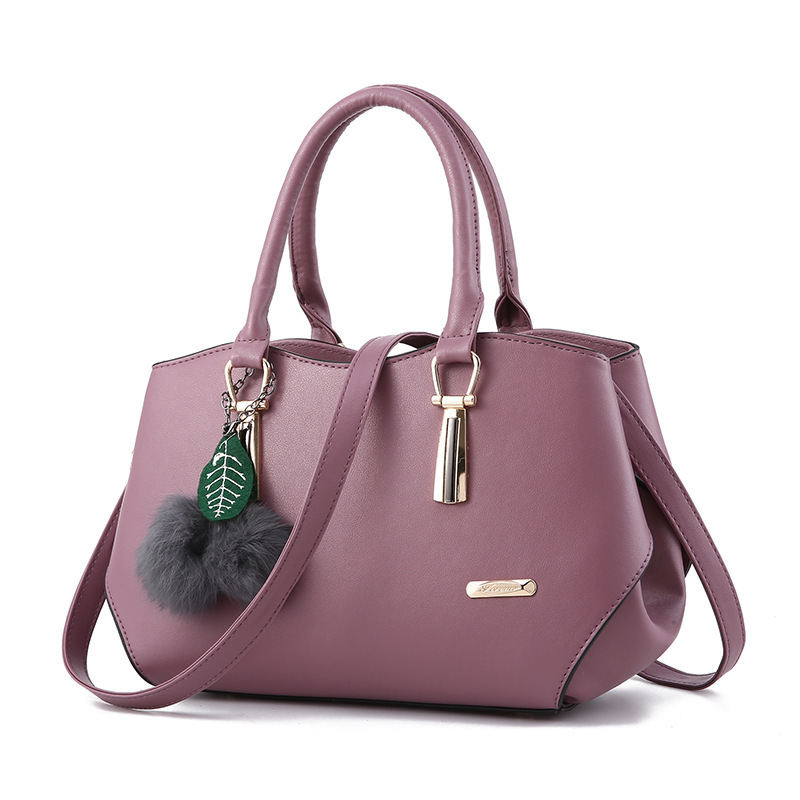 Casual Soft Bag Simple Handbags Designer Luxury Female Crossbody Bags Ladies PU Leather Tote Sac A Main