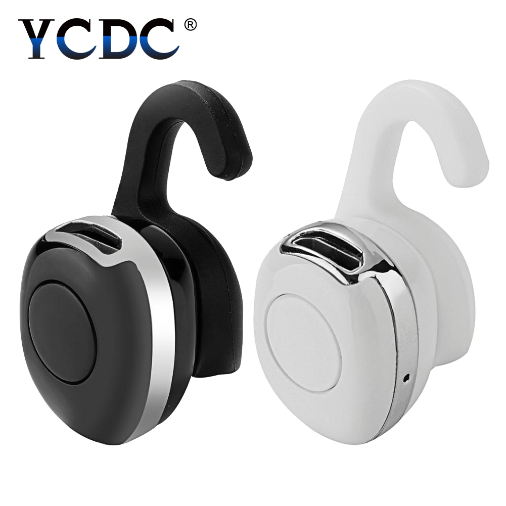 Hands-free Wireless Bluetooth Earphone Bluetooth Headset Headphones Earbud with Earhook Earphone Case for Phone PC гаджет tank007 usb10