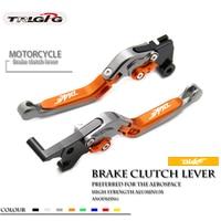 Motorcycle lever CNC Adjustable Foldable Lengthening aluminum brake clutch levers For ktm duke 125 200 390 duke 2014 2017 2019 8
