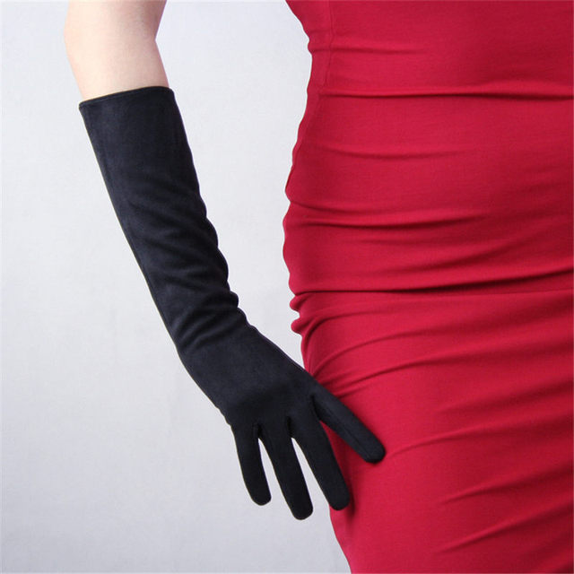 Suede Leather Gloves China...