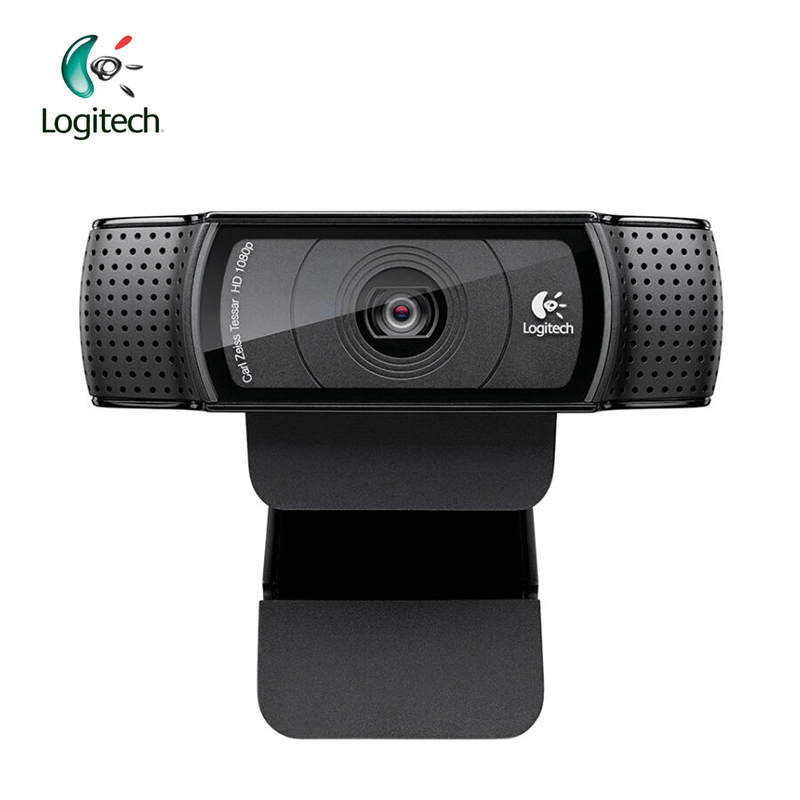 Logitech Pro C920 HD 1280*960 Webcam Support Official Test with 15 Million Pixels CMOS 30FPS for Windows 10/8/7 100% genuine 100% logitech webcam c930e carl zeiss hd webcam ddp asos with retail package