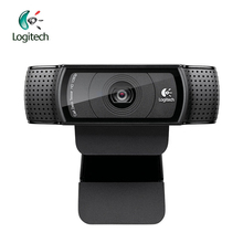 Logitech Pro C920 HD 1280*960 Webcam Support Official Test with 15 Million Pixels CMOS 30FPS for Windows 10/8/7