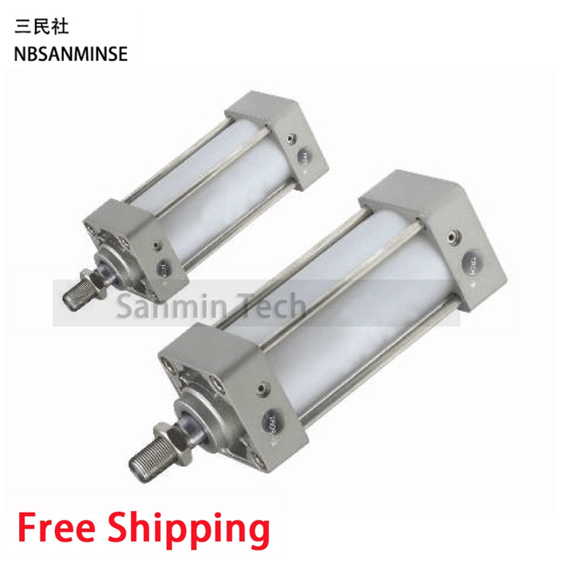 MB Pneumatic Standard Cylinder Double Acting Single Rod SMC Similar Type Compressed Air Cylinder High Quality Sanmin high quality single acting normally open mini gripper pneumatic cylinder mhz2 10s smc type aluminium air clamps