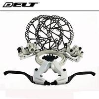 Wit Mountain MTB fiets brake Mechanische schijfremmen rotors Schroef 160mm voor Fiets remblokken AVID Elixir E1 SRAM xo xx