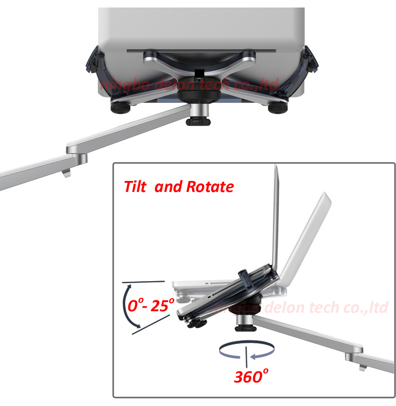 UP-8 Aluminum tilt 360 rotate 10-15