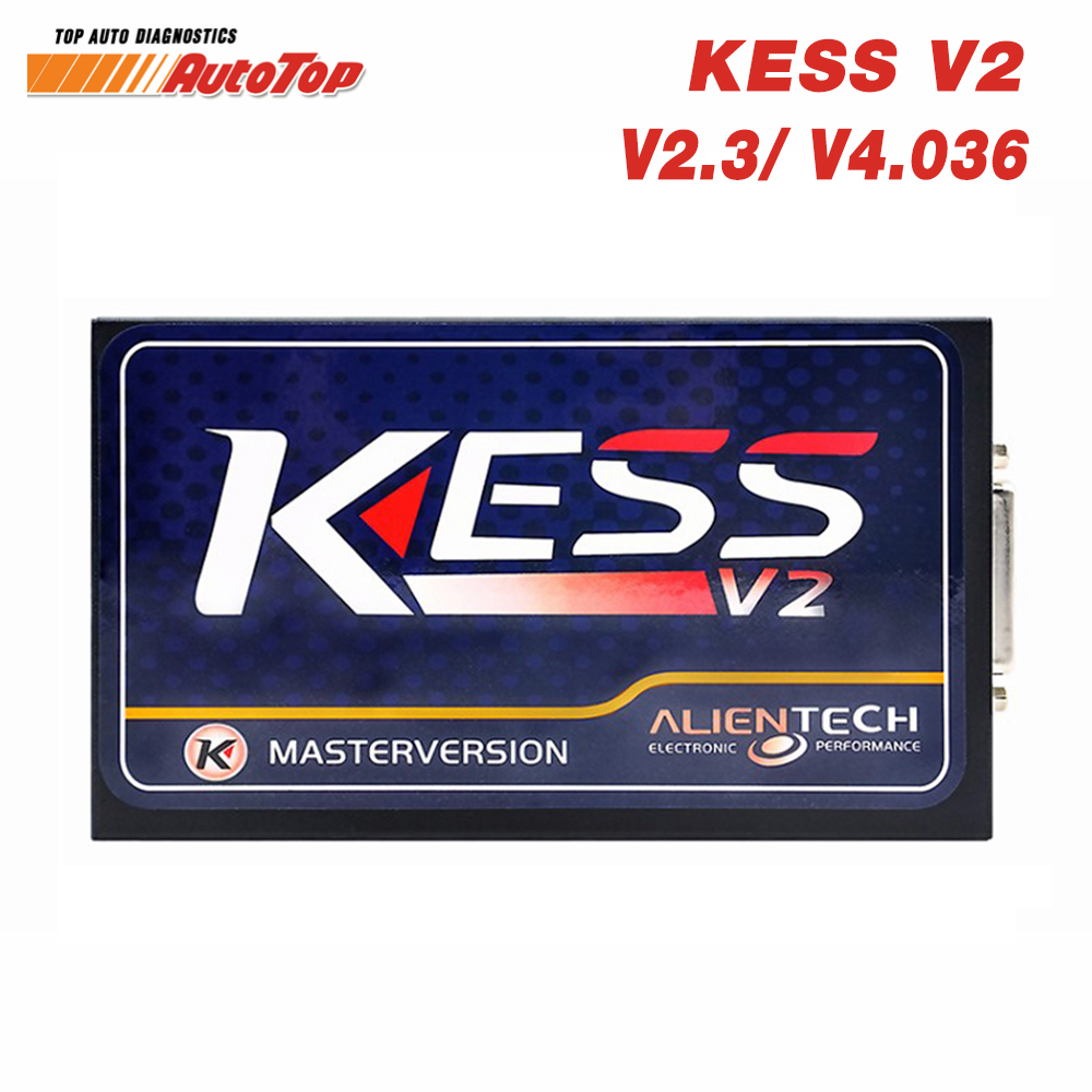Kess V2 V4.036 Master ODB 2 OBD2 Manager Tuning Kit KESS V2 V2.3 Car ECU Programmer No Tokens Limit Free ECM Titanium Software free delivery car engine computer board ecu 0261208075