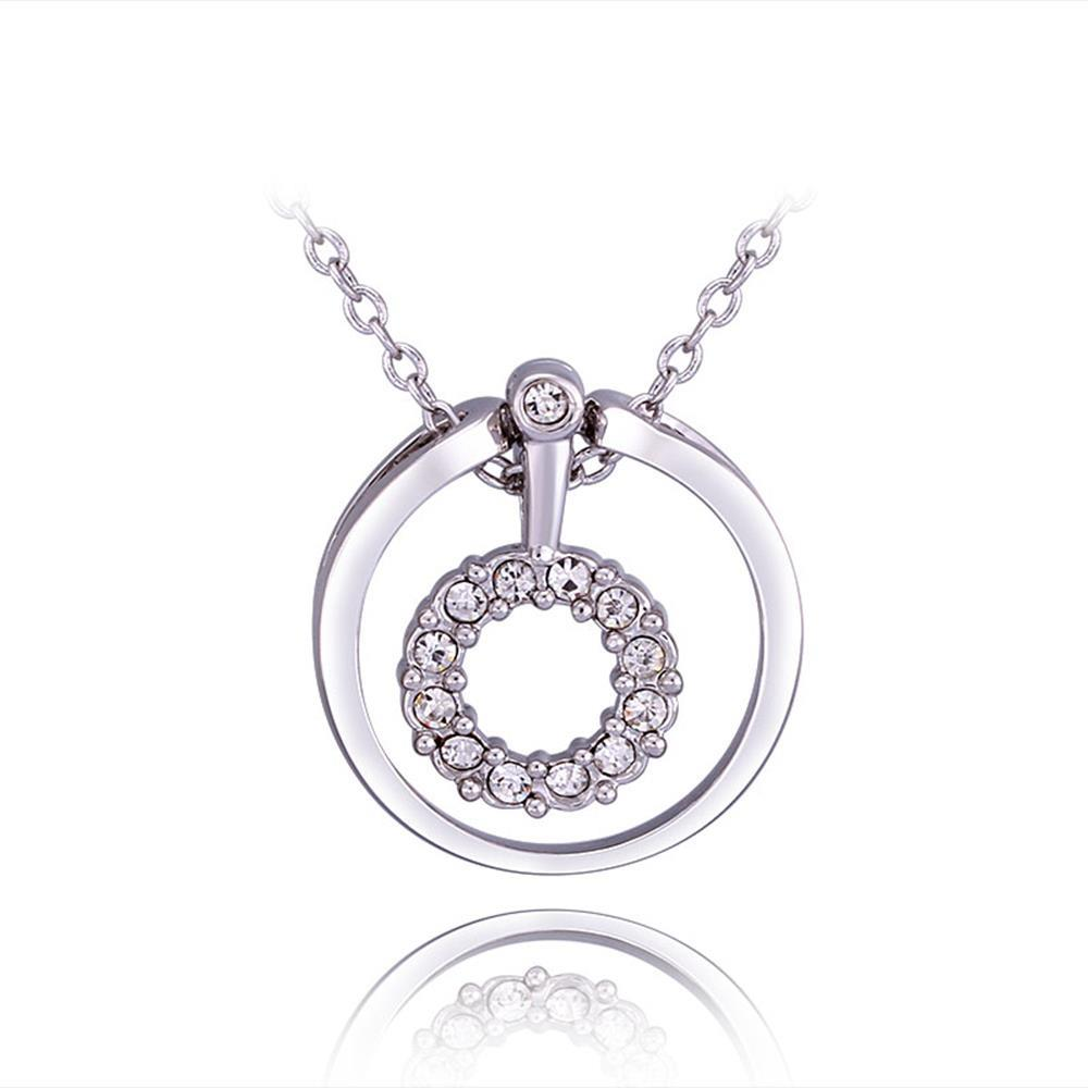 N735 WholesaleNickle Free Antiallergic18K Real Gold PlatedNecklace pendantsNew Fashion JewelryFor Women