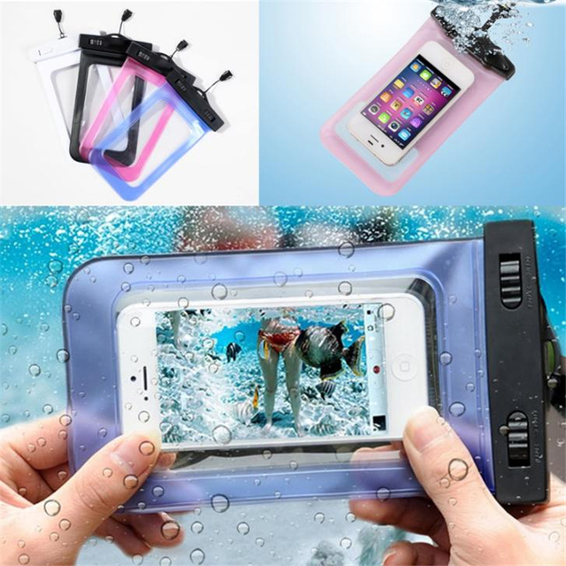 77f8b4c6fd8 Universal Phone Waterproof Bag Carcasas Coque Capa De Capinhas A Prova  Dagua Para Celular for Iphone