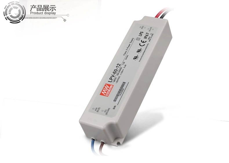 10pcs 110v 220v output <font><b>24V</b></font> 4.2A <font><b>100W</b></font> waterproof <font><b>meanwell</b></font> led Switching Switch Power Supply adapter for Strip rigid bar image