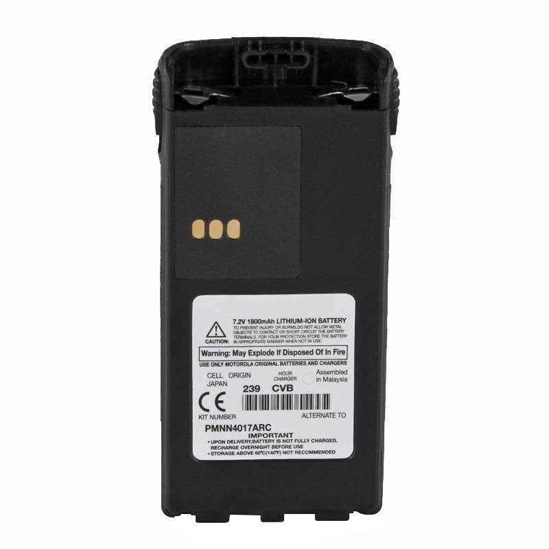 7.2V PMNN4017ARC 1800 MAh LITHIUM-ION Battery For Motorola Radio CT250 CT450 P308 PRO3150 P040 P080 GP88S Radio