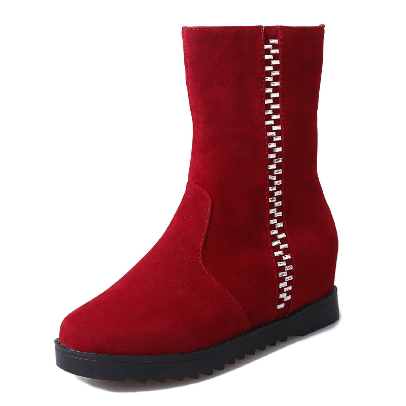Red Top Boots Promotion-Shop for Promotional Red Top Boots on ...